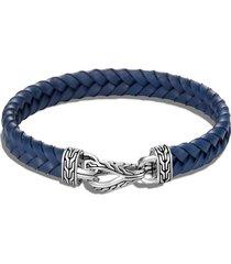 men's john hardy men's asli classic chain braided leather bracelet
