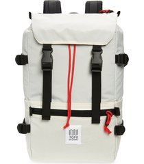 topo designs rover backpack - beige