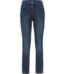 jeans elasticizzati a vita alta con cinta comoda (nero) - bpc bonprix collection