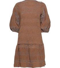 maisieiw dress jurk knielengte beige inwear