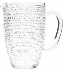 jarra de vidro poã¡ 1 litro - incolor - dafiti