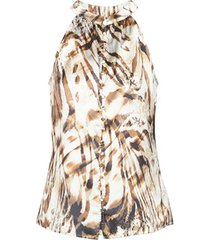 blouse marciano sandscape top
