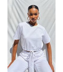 supersoft oversized sweat top, white