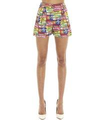 moschino chewingum shorts