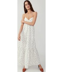 forget me not ivory gathered tiered dress