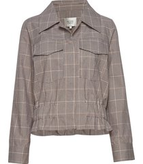 jimena ls shirt sommarjacka tunn jacka beige second female