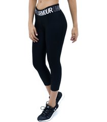 capri negro under armour armour hg ankle crop