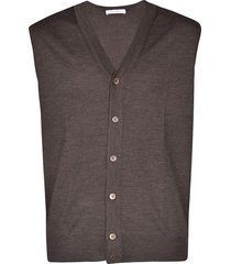 cruciani buttoned vest
