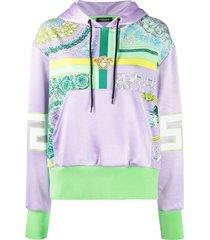 barocco mosaic hoodie
