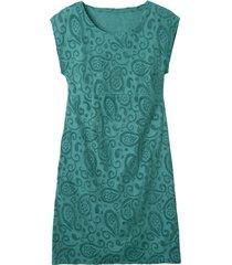 intarsia jurk kort, smaragd 38