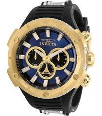 reloj invicta negro modelo 295na para hombre, colección bolt