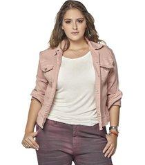 chaqueta femenina palo de rosa pretty much