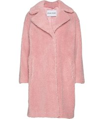 camille cocoon coat outerwear faux fur roze stand studio