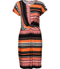 dress-jersey jurk knielengte multi/patroon brandtex