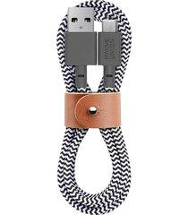 belt usb-a to usb-c charging cable - zebra