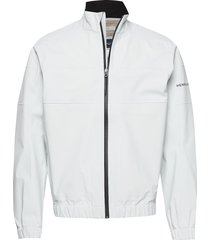 m-course crew jacket 2.5l tunn jacka vit henri lloyd