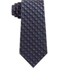 kenneth cole reaction men's checkerboard geo tie
