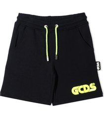 gcds blue cotton shorts