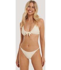 na-kd swimwear bikinitrosor med tunna band - offwhite