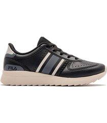 zapatilla negra fila retro sport 2,0 sl