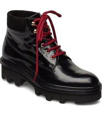 boots 3595 shoes boots ankle boots ankle boots flat heel svart billi bi