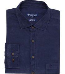 camisa dudalina fio corduroy masculina (bege medio, 7)