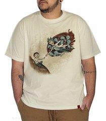 camiseta a criação de morty