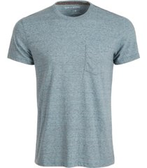 sun + stone men's devin contrast chain stitch t-shirt, created for macy's
