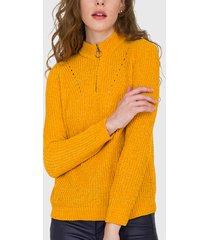 sweater io amarillo - calce holgado