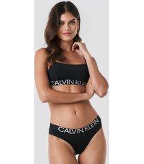 calvin klein bikini coordinate panties - black