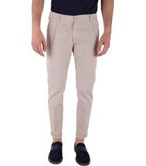 re hash cotton blend trousers