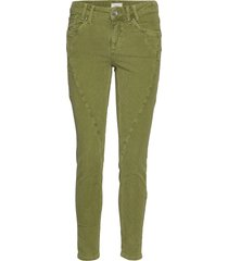 pzrosita skinny pant skinny jeans grön pulz jeans