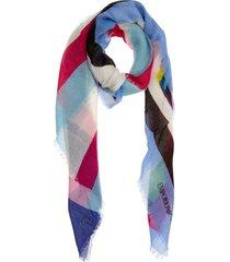 emporio armani skull scarf