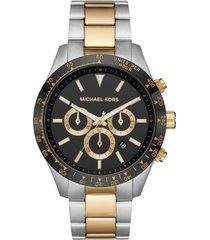 men's michael kors layton chronograph bracelet watch, 45mm