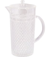 jarra acrílico transparente