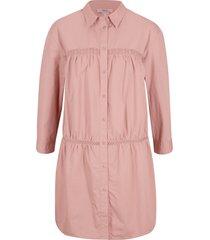 camicetta lunga con pizzo (rosa) - bpc bonprix collection