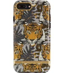 richmond & finch tropical tiger case for iphone 6/6s plus, 7 plus and 8 plus