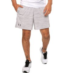 pantaloneta gris under armour mk1 twist 7in s