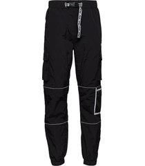 men uba wind pants trousers cargo pants svart fila