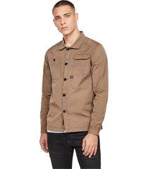 g-star d16250 9669 multipocket straight shirt shirt men camel