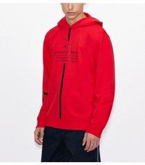 men's drawstring milano new york linear logo sweatshirt