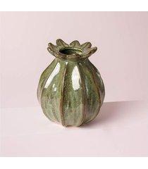 vaso sivas cor: verde - tamanho: único