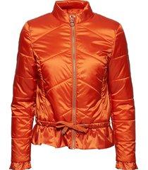 crystal spring jacket fodrad jacka orange cream