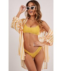showpo anais bikini bottom in mango - 20 (xxxxl) bikini sets