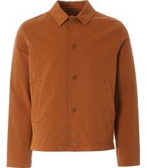ymc groundhog jacket - rust - p5nac-20