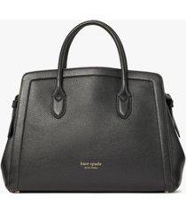 kate spade new york knott large leather satchel