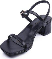 verano nueva hebilla sandalias de las mujeres cabeza de dedo del