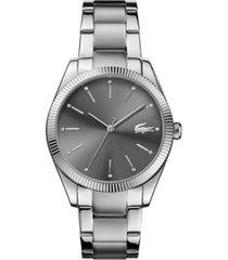 lacoste women's parisienne stainless steel bracelet watch 36mm