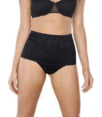 panty panty control suave negro leonisa 012993