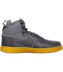 zapatillas moda nike court borough hombre gris